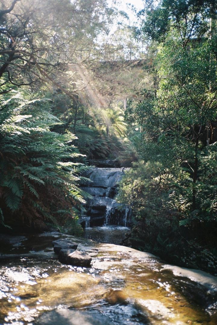 Leura cascade waterfalls, Blue Mountains