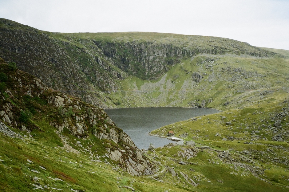 Dulyn Reservoir in Snowdonia